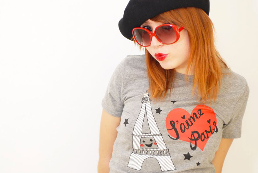 Katia tshirt Paris