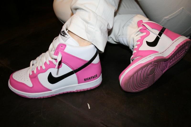 Dickface Nike Dunk rose