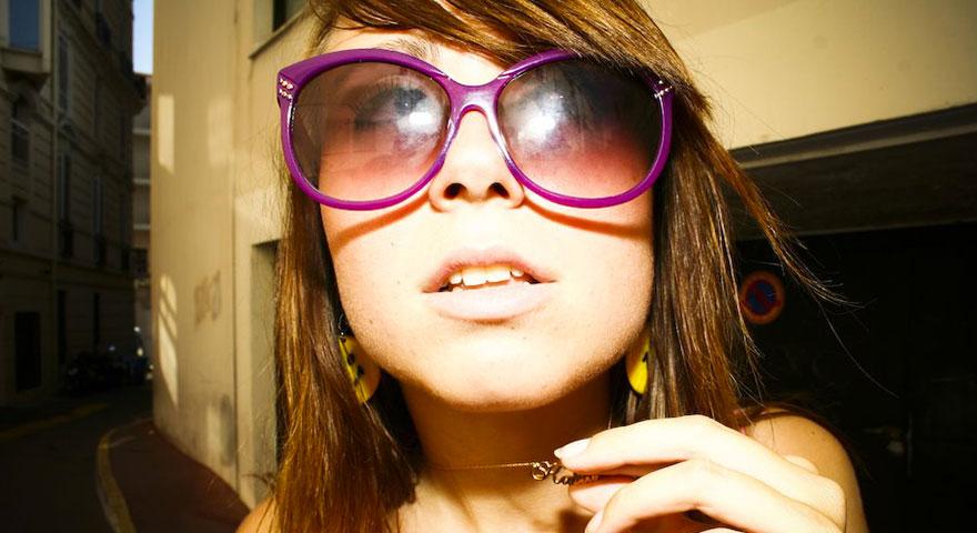 Katia Rousse lunette