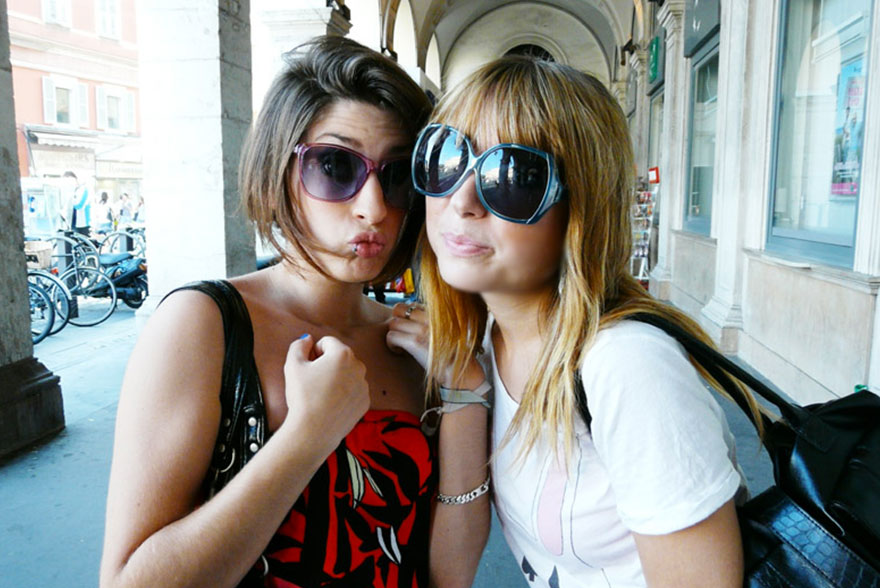 Katia et Camille à Nice