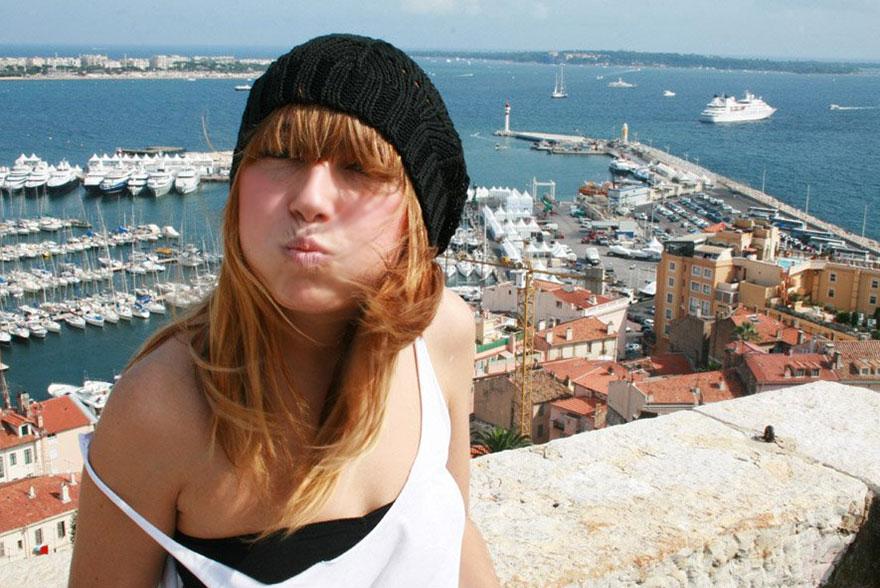 Katia Bonnet noir