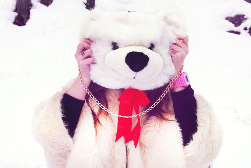 Sac a main Teddy Bear Im your present