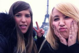 Diane et Katia a Paris