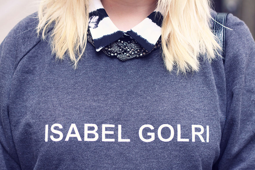 Trop mar(r)ant mon pull Isabel Golri. - Lazy