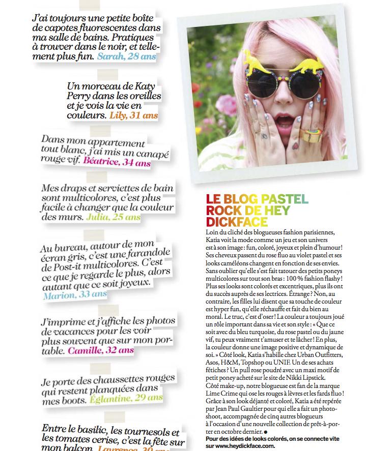 Heydickface dans cosmopolitan France