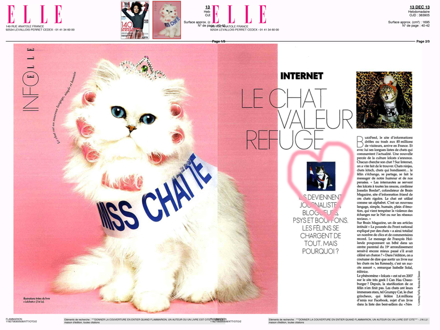 Elle Magazine LOL Chats