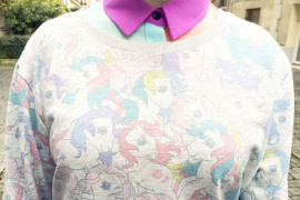 Little pony pastel sweater