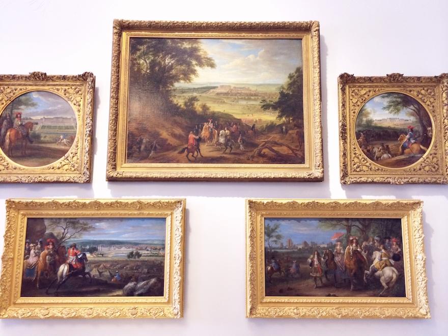 peintures chateau versailles
