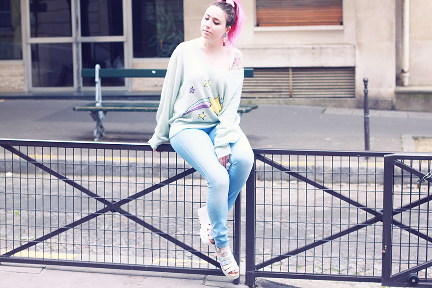 wildfox star outfit