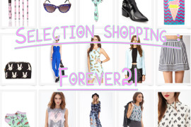 selection shopping forever21