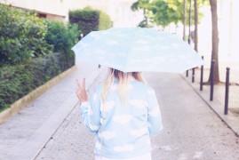 veste parapluie nuage