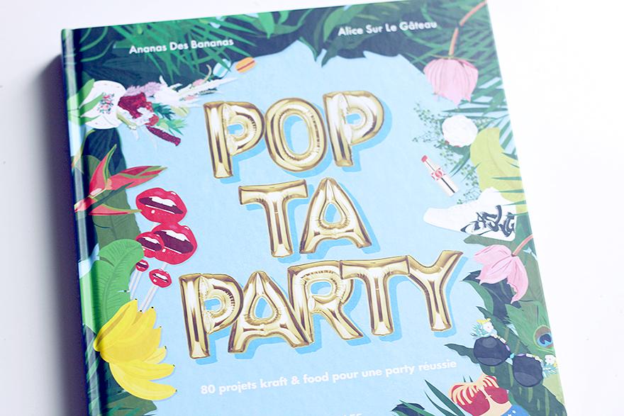alice sur le gateau pop ta party livre