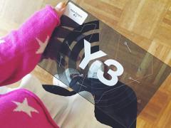 y-3 adidas yohji yamamoto fashion show