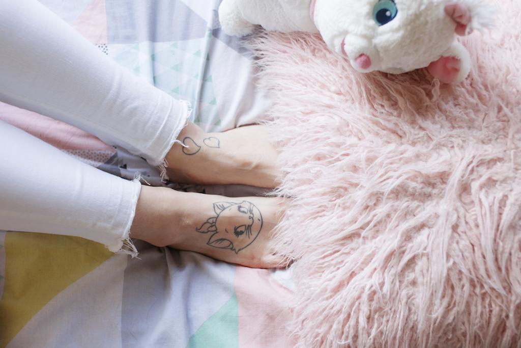 marie disney tattoo