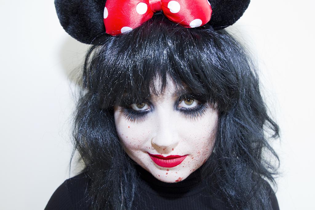 minnie mouse disney killer halloween costume