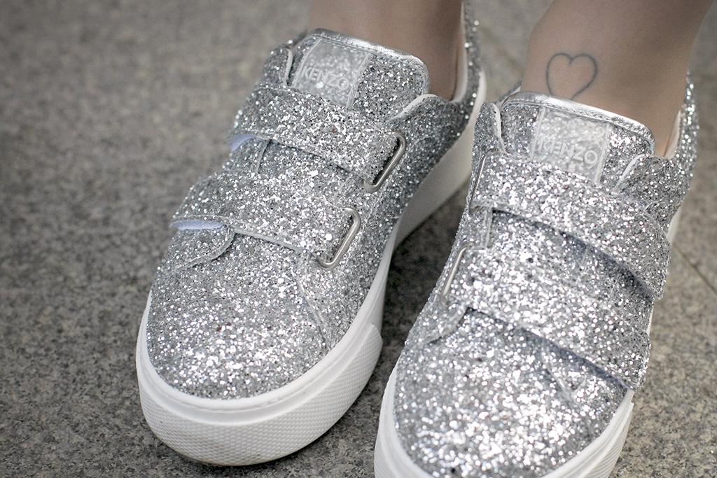 kenzo glitter sneakers