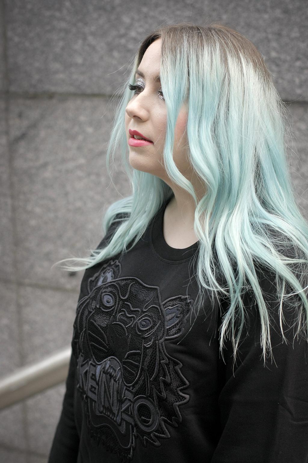 kenzo tiger mesh mermaid hair