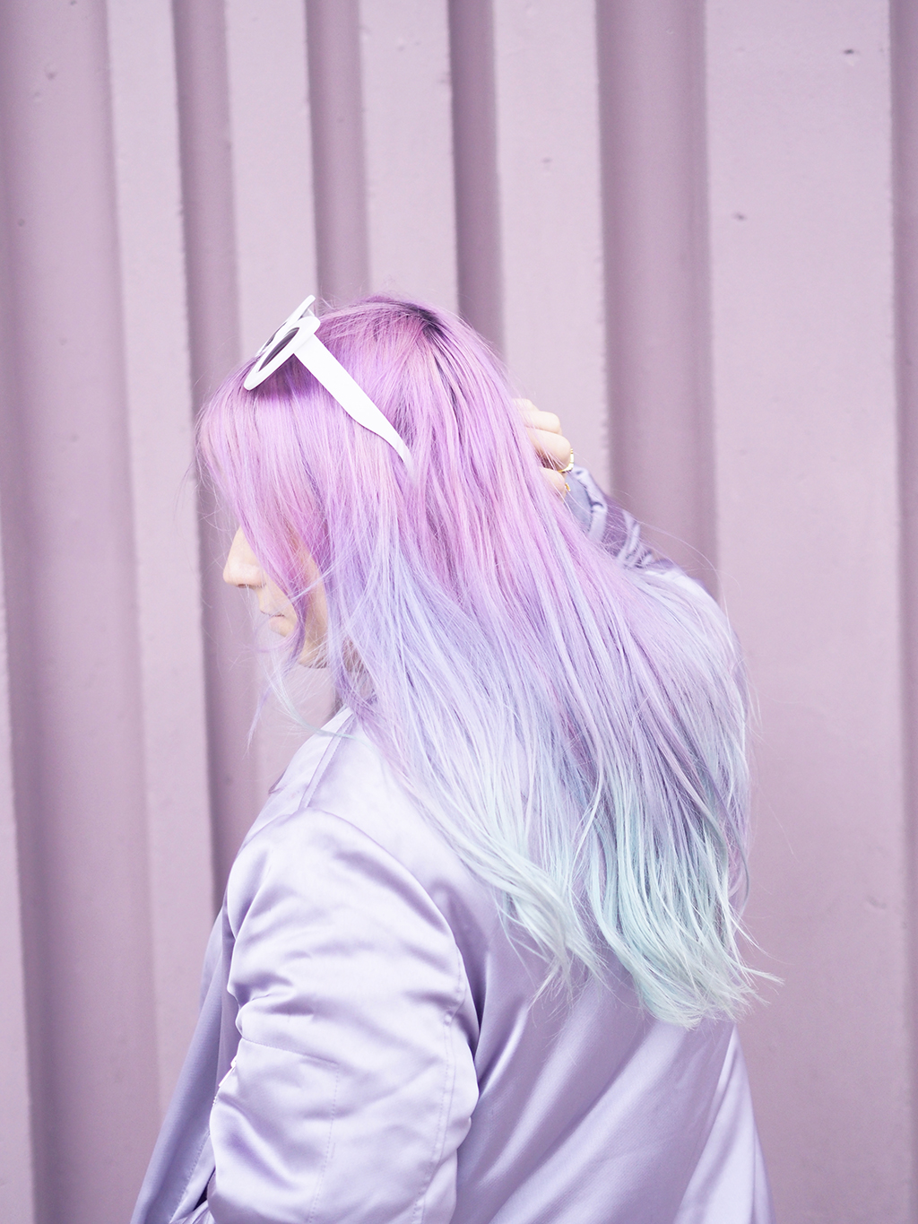mermaid unicorn hair