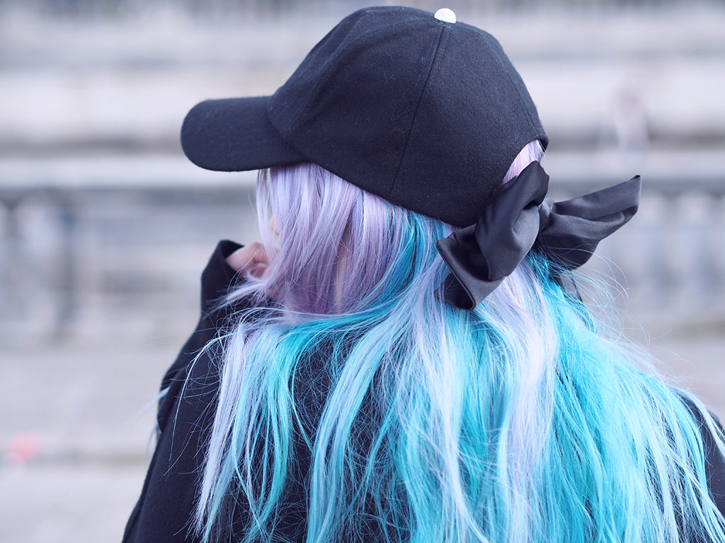 manic panic cheveux pastel