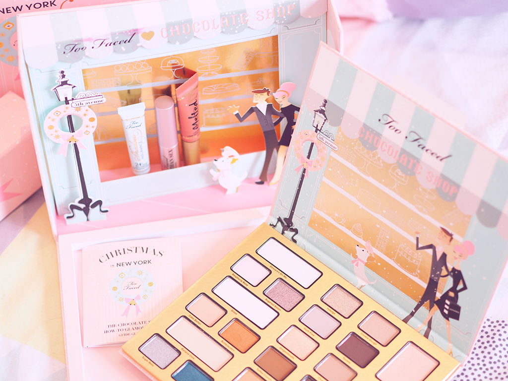 too faced chocolate shop