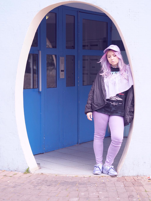new photos df779 ba4a9 Fashion : An all lilac look with Asos and Puma x Fenty ...