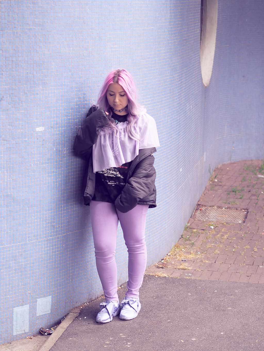 new photos 84034 9d278 Fashion : An all lilac look with Asos and Puma x Fenty ...