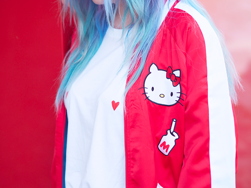 nylon Sanrio hello kitty