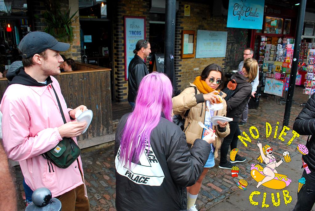 no diet club food porn tour london