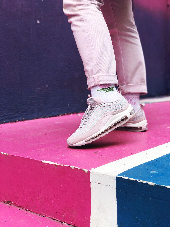 courir nike air max 97 ultra lx pink