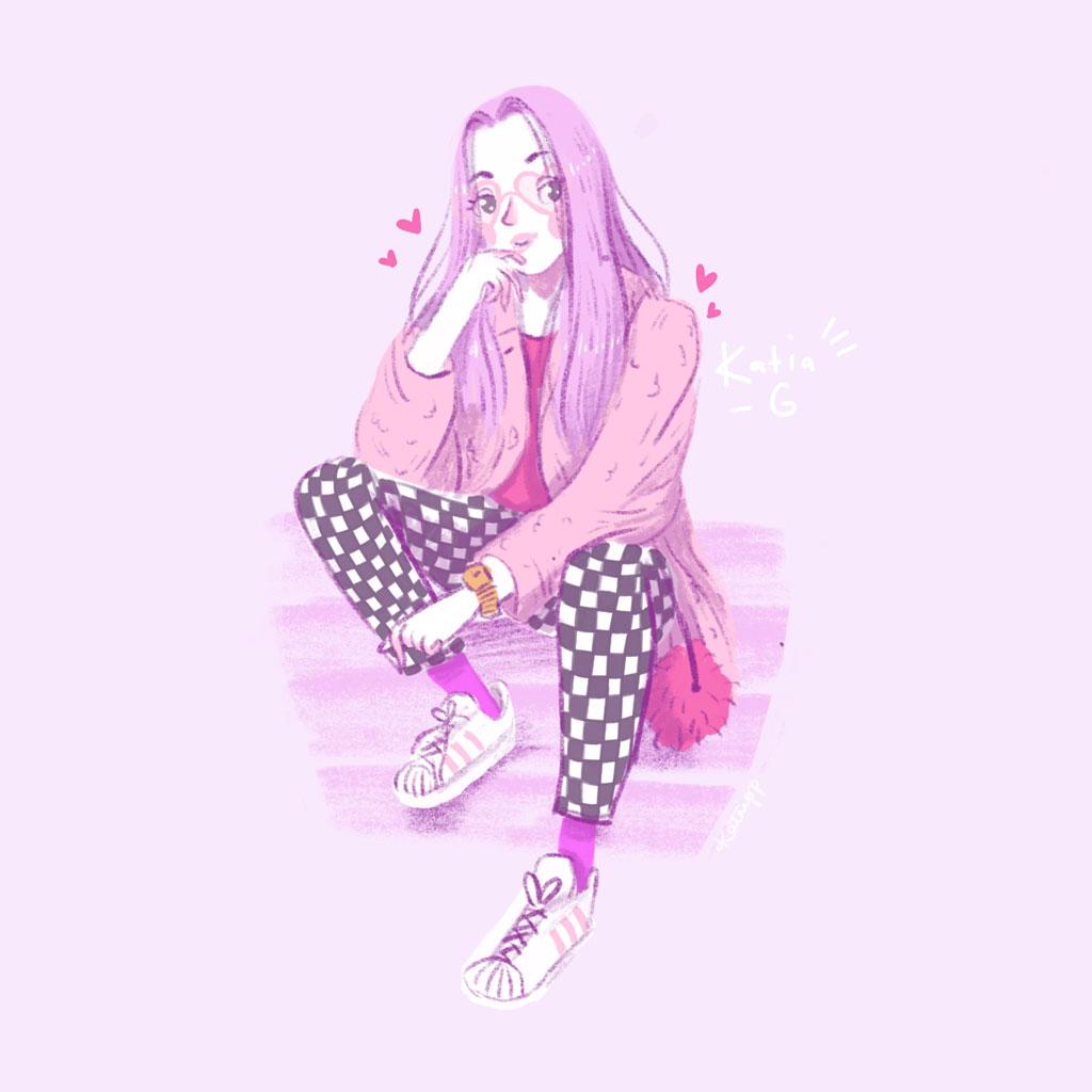 Lazy Kat Katnipp Illustrations