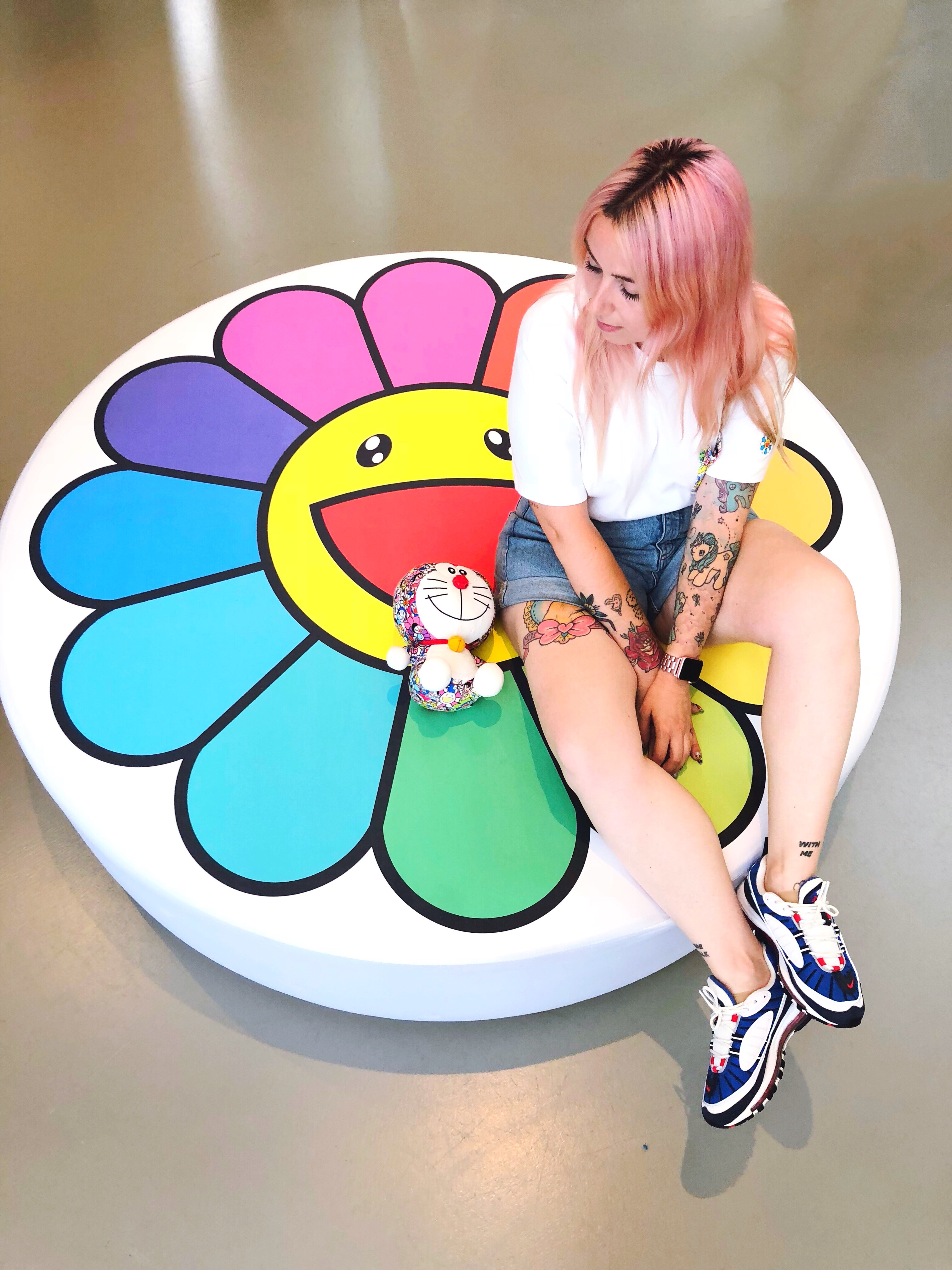 takashi murakami fondation louis vuitton