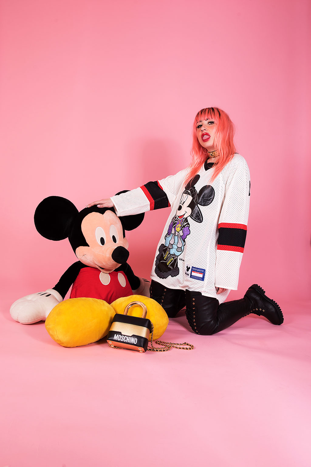 moschino disney mickey h&m